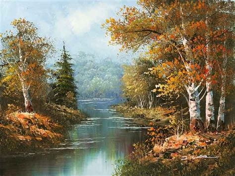 oil paintings oil painting forest china oil painting