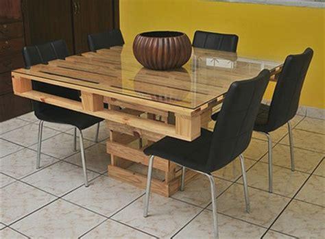peinture cuisine moderne table en palette 44 idées à découvrir photos