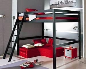 Lit Ado Ikea : ikea chambre ado recherche google bed room pinterest chambres lits mezzanine et ~ Teatrodelosmanantiales.com Idées de Décoration