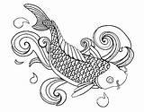 Fish Coloring Printable Educative sketch template