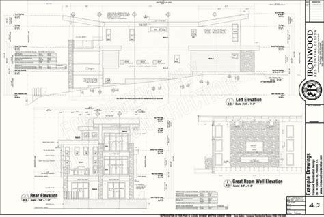 Residential Drawing Set,