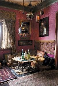 Orientalische Einrichtung Wohnzimmer