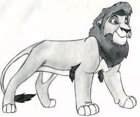 Lion King Kovu Drawings