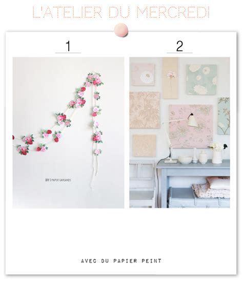 15 diy avec des chutes de papier peint