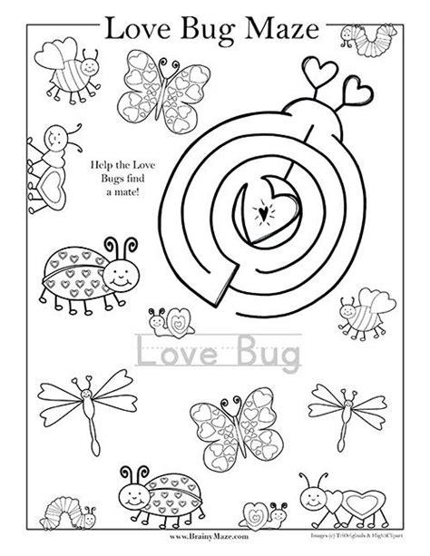 valentines day mazes activities  images