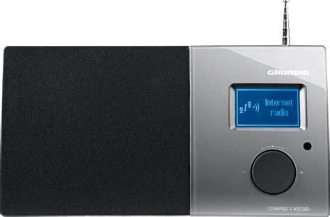 elegantes design grundig digitalradio