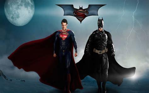 Dual Monitor Wall Papers Superman Batman 4k Full Hd Desktop Wallpaper Hd Wallpapers