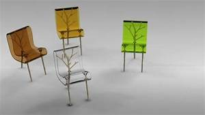 Nature inspired set of furniture