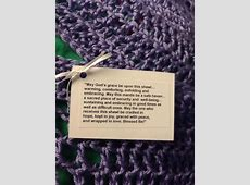 Prayer Shawls Made With Love for Hospice Patients Saint