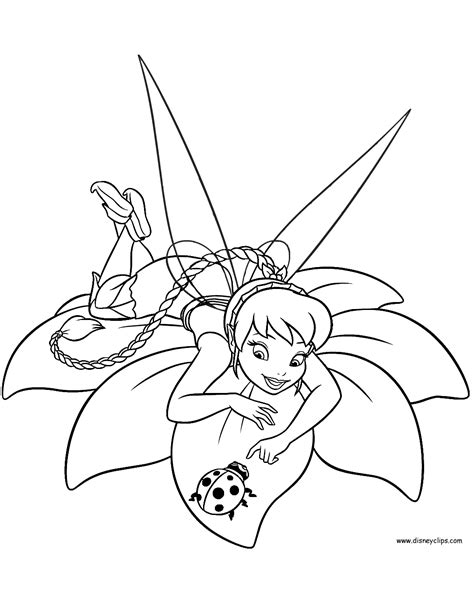 Disney Fairies Coloring Pages (2) Disneyclips com