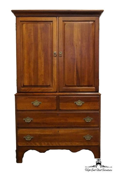 Cloth Armoire by Furniture Ducks Unlimited Currituck Cherry 40