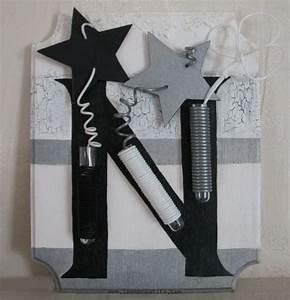 Cadre Deco Noir Et Blanc : cadre tableau de no l noir et blanc ~ Melissatoandfro.com Idées de Décoration
