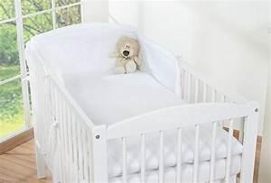 Couette Pour Lit Bébé : housses de couette et d 39 oreiller pour lit b b 140x70 blanc ~ Teatrodelosmanantiales.com Idées de Décoration