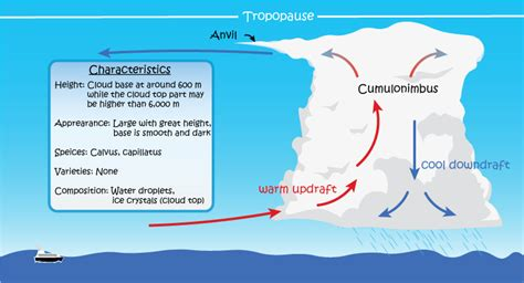 Simple Thunderstorm Diagram by Cloud Appreciation By Dr Tin