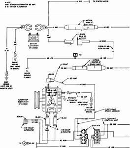 1986 Ramcharger Alternator Wirig