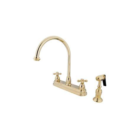 restoration hardware kitchen faucet kingston brass kb3752axbs polished brass restoration