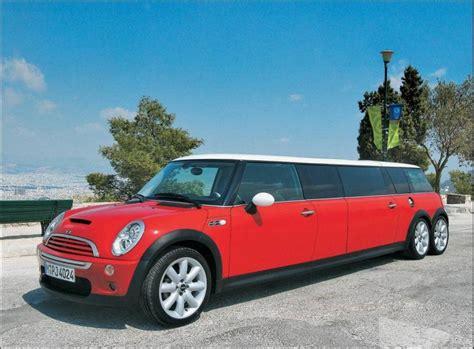 Big Limousine Car by Mini On The Block The Mini Cooper Limo A Car