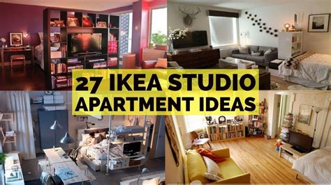27 Ikea Studio Apartment Ideas