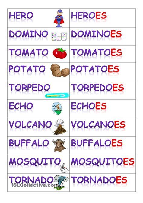 plurals    learn english vocabulary english