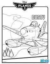 Dusty Crophopper Coloring Disney Hellokids Planes Rescue Fire Printable Sheets sketch template