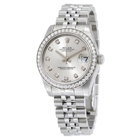 Rolex Datejust Lady 31 Silver Dial Stainless Steel Jubilee ...