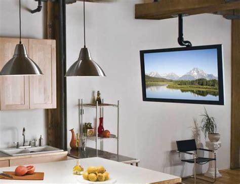 Sanus Tv Ceiling Mount For 37 70 Tvs With Smooth Tilt