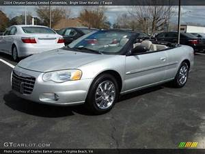 2004 Chrysler Sebring Limited Convertible In Bright Silver