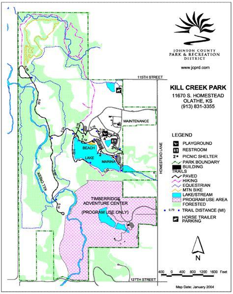 Heartland Region Parks Information: Kill Creek Park