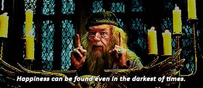 Dumbledore Quotes Happiness Found Darkest Times Turn