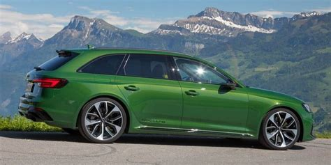 Audi Rs4 Sportback by 2019 Audi Rs4 Avant Why Green Though Audi Audi Rs4