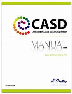 Checklist For Autism Spectrum Disorder  Casd