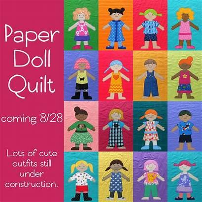 Doll Paper Quilt Dolls Patterns Quilts Blanket