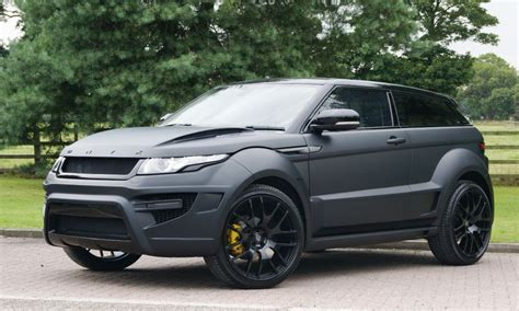 Used Land Rover Onyx Evoque Rogue Edition