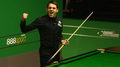 Frame won barring snookers and o'sullivan doesn't look like he'll open that door. What is Ronnie O'Sullivan's favourite Crucible 147 of all ...