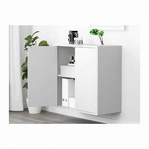 EKET Cabinet with 2 doors and shelf - IKEA