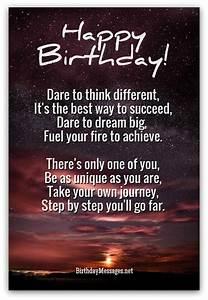 Inspirational Birthday Poems - Unique Poems for Birthdays