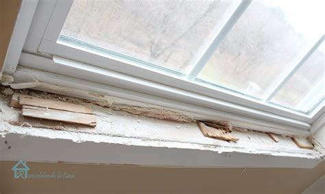 Interior Window Sill Replacement by How To Install Window Trim Pretty Handy