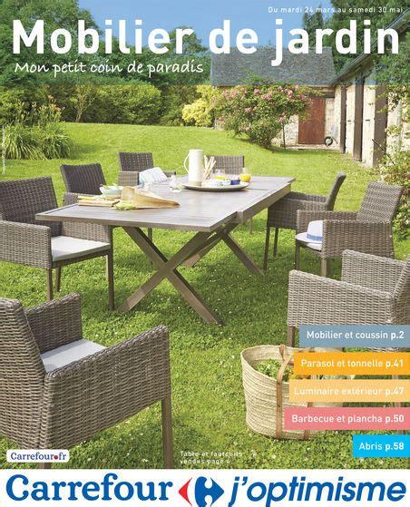 catalogue carrefour mobilier de jardin du 24 03 2015 coq