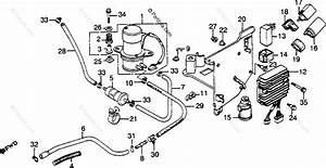 Honda Motorcycle 1983 Oem Parts Diagram For Fuel Pump