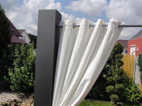 Sichtschutz Garten Vorhang by Sichtschutz Vorhang Im 2er Set