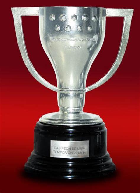 consigue   la replica oficial del trofeo de la liga