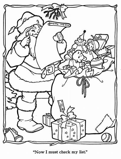 Christmas Coloring Merry Paint Countdown Pages Colouring