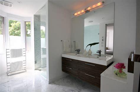 Large Bathroom Mirror Frameless by Black Floor Tiles With Large Frameless Mirror For