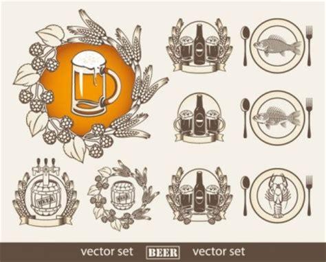 bier etiketten vektor vektor misc kostenlose vector