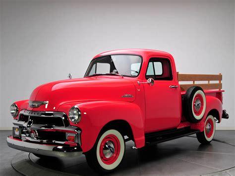 1954 Chevrolet 3100 Pickup Truck (h3104) Design Interior