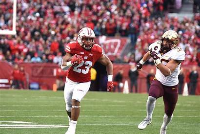 Football Offensive Line Wisconsin Backfield Badgers Searching