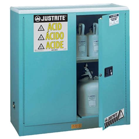 justrite cabinet  acids corrosives   gal fm
