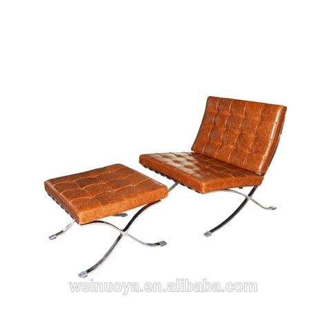 replica mies der rohe barcelona chair with italian