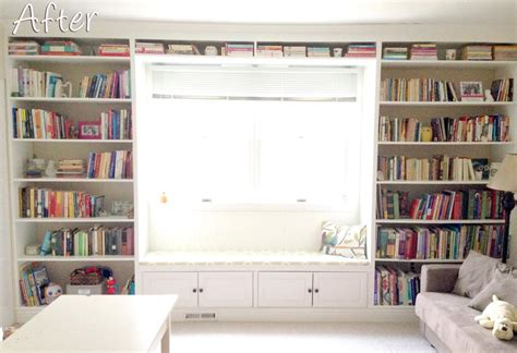 wall to ceiling bookcases built in bookshelves with a window seat how to build a