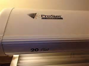 Esb Tanning Bed by Tanning Bed Prosun Select 20 Plus Local Pickup Only